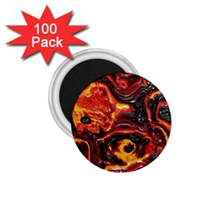 Lava Active Volcano Nature 1 75  Magnets (100 Pack)  by Alisyart