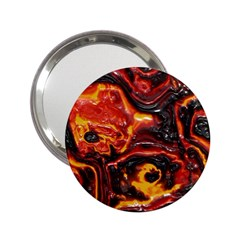 Lava Active Volcano Nature 2 25  Handbag Mirrors by Alisyart