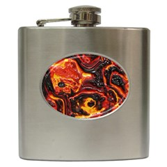 Lava Active Volcano Nature Hip Flask (6 oz)