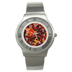Lava Active Volcano Nature Stainless Steel Watch