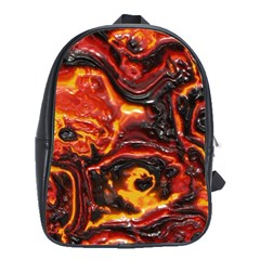 Lava Active Volcano Nature School Bags(Large)