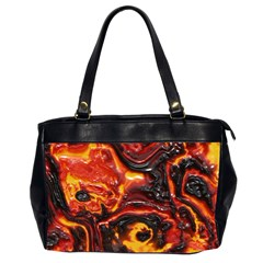 Lava Active Volcano Nature Office Handbags (2 Sides)