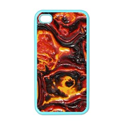 Lava Active Volcano Nature Apple iPhone 4 Case (Color)