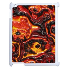 Lava Active Volcano Nature Apple Ipad 2 Case (white) by Alisyart