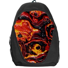 Lava Active Volcano Nature Backpack Bag