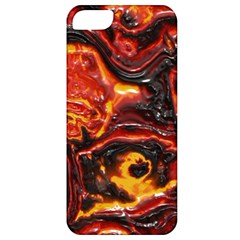 Lava Active Volcano Nature Apple Iphone 5 Classic Hardshell Case by Alisyart