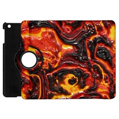 Lava Active Volcano Nature Apple Ipad Mini Flip 360 Case by Alisyart