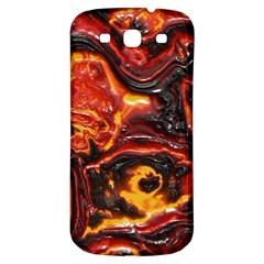 Lava Active Volcano Nature Samsung Galaxy S3 S III Classic Hardshell Back Case