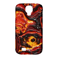Lava Active Volcano Nature Samsung Galaxy S4 Classic Hardshell Case (PC+Silicone)