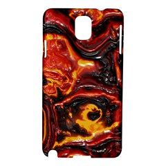 Lava Active Volcano Nature Samsung Galaxy Note 3 N9005 Hardshell Case