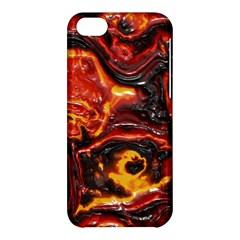Lava Active Volcano Nature Apple Iphone 5c Hardshell Case by Alisyart