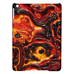 Lava Active Volcano Nature Ipad Air Hardshell Cases by Alisyart