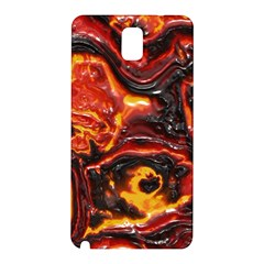Lava Active Volcano Nature Samsung Galaxy Note 3 N9005 Hardshell Back Case