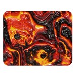 Lava Active Volcano Nature Double Sided Flano Blanket (Large)   Blanket Back