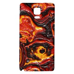 Lava Active Volcano Nature Galaxy Note 4 Back Case by Alisyart