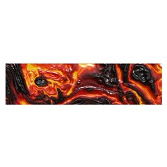 Lava Active Volcano Nature Satin Scarf (Oblong)