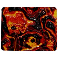 Lava Active Volcano Nature Jigsaw Puzzle Photo Stand (Rectangular)