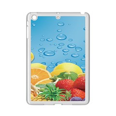 Fruit Water Bubble Lime Blue Ipad Mini 2 Enamel Coated Cases