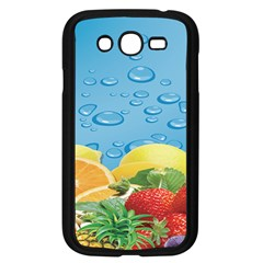 Fruit Water Bubble Lime Blue Samsung Galaxy Grand Duos I9082 Case (black) by Alisyart