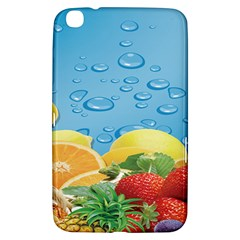 Fruit Water Bubble Lime Blue Samsung Galaxy Tab 3 (8 ) T3100 Hardshell Case  by Alisyart