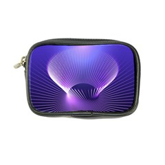 Lines Lights Space Blue Purple Coin Purse by Alisyart