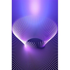 Lines Lights Space Blue Purple 5 5  X 8 5  Notebooks