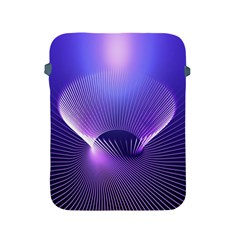 Lines Lights Space Blue Purple Apple Ipad 2/3/4 Protective Soft Cases by Alisyart
