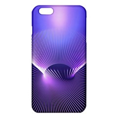 Lines Lights Space Blue Purple Iphone 6 Plus/6s Plus Tpu Case by Alisyart