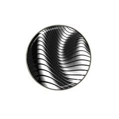 Metallic Waves Hat Clip Ball Marker (4 Pack)