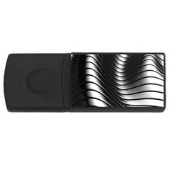 Metallic Waves Usb Flash Drive Rectangular (4 Gb) by Alisyart