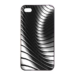 Metallic Waves Apple Iphone 4/4s Seamless Case (black) by Alisyart