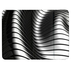 Metallic Waves Samsung Galaxy Tab 7  P1000 Flip Case