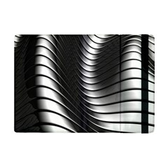 Metallic Waves Ipad Mini 2 Flip Cases