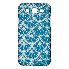 Lime Blue Star Circle Samsung Galaxy Mega 5 8 I9152 Hardshell Case