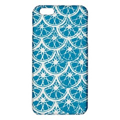 Lime Blue Star Circle Iphone 6 Plus/6s Plus Tpu Case by Alisyart