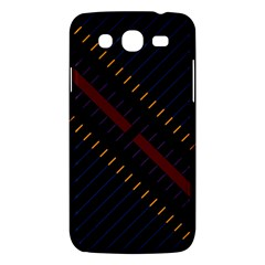 Material Design Stripes Line Red Blue Yellow Black Samsung Galaxy Mega 5 8 I9152 Hardshell Case  by Alisyart