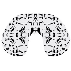 Nums Seamless Tile Mirror Travel Neck Pillows by Alisyart