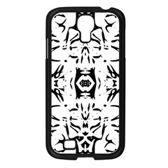 Nums Seamless Tile Mirror Samsung Galaxy S4 I9500/ I9505 Case (black)