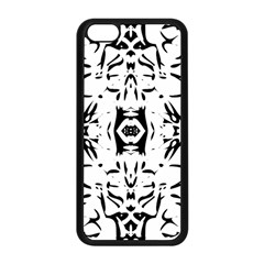 Nums Seamless Tile Mirror Apple Iphone 5c Seamless Case (black)