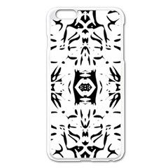 Nums Seamless Tile Mirror Apple Iphone 6 Plus/6s Plus Enamel White Case by Alisyart