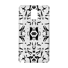 Nums Seamless Tile Mirror Samsung Galaxy Note 4 Hardshell Case by Alisyart