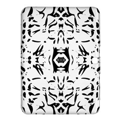 Nums Seamless Tile Mirror Samsung Galaxy Tab 4 (10 1 ) Hardshell Case  by Alisyart