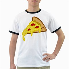 Pasta Salad Pizza Cheese Ringer T Shirts