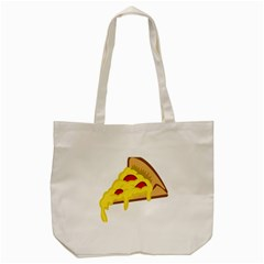 Pasta Salad Pizza Cheese Tote Bag (cream) by Alisyart