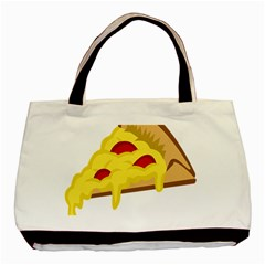 Pasta Salad Pizza Cheese Basic Tote Bag (two Sides) by Alisyart