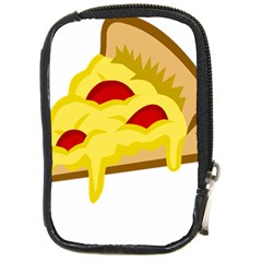 Pasta Salad Pizza Cheese Compact Camera Cases by Alisyart