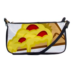 Pasta Salad Pizza Cheese Shoulder Clutch Bags by Alisyart