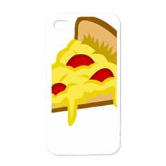 Pasta Salad Pizza Cheese Apple Iphone 4 Case (white) by Alisyart