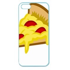 Pasta Salad Pizza Cheese Apple Seamless Iphone 5 Case (color)