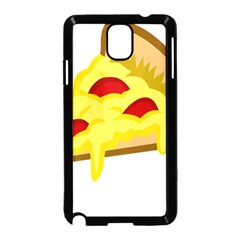 Pasta Salad Pizza Cheese Samsung Galaxy Note 3 Neo Hardshell Case (black)